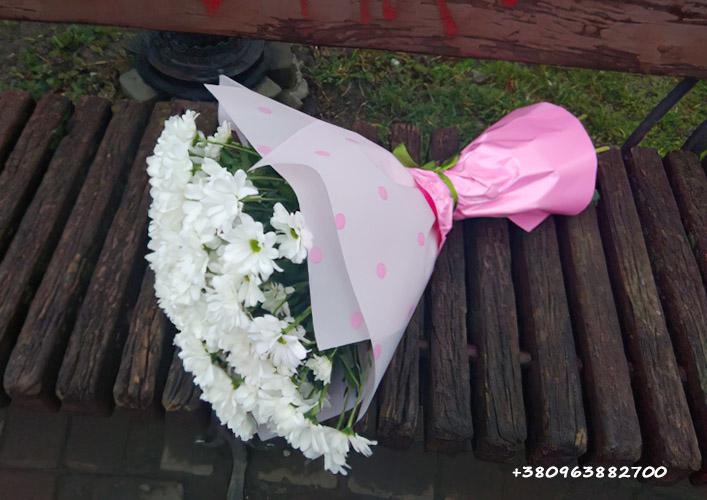 Букет хризантем фото